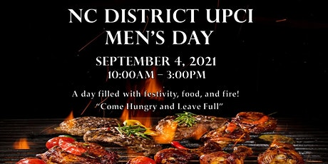 NC District UPCI Men's Day tickets