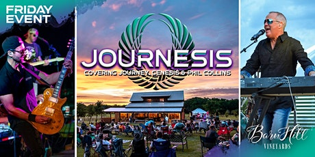 FRIDAY: Journey, Genesis, and Phil Collins by Journesis & Great Texas Wine! tickets