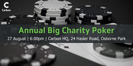 Big Charity Poker tickets