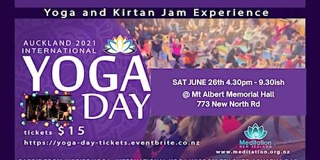 Auckland International YOGA DAY 2021 ingressos
