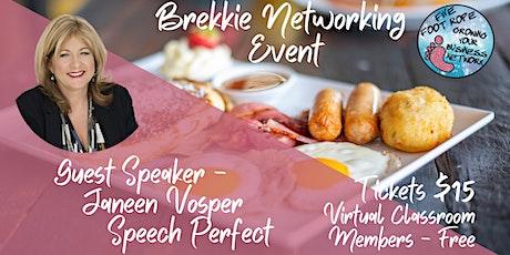 Five Foot Rope Brekkie Networking Event - July tickets