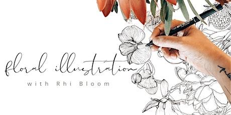 Floral Illustration Workshop tickets