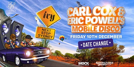 Carl Cox & Eric Powell's Mobile Disco  Present:  Hot Sauce (NEW DATE) tickets