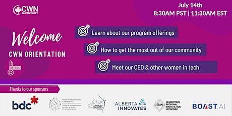 Canadian Women's Network Member Orientation tickets