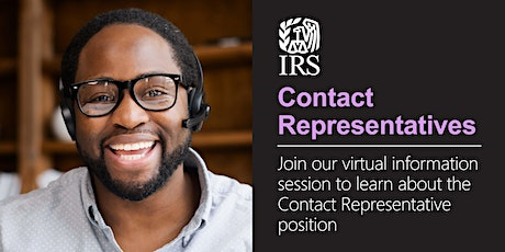 Virtual Info Session about the Bilingual Contact Representative position tickets
