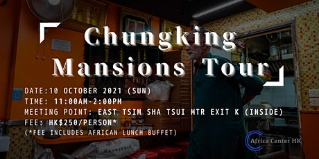 Chungking Mansions Tour tickets