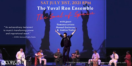 The Soul Of Spain the Yuval Ron Ensemble & Special Guest Flamenco Artists tickets