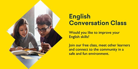 English Conversation Class @ Burnie Library tickets