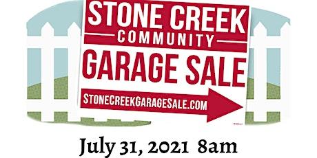 Annual Stone Creek Community Garage Sale tickets