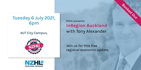Tony Alexander InRegion Auckland - Seminar One tickets