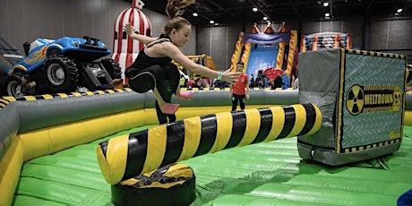 Inflatable adventure world Fog Lane Park Manchester tickets
