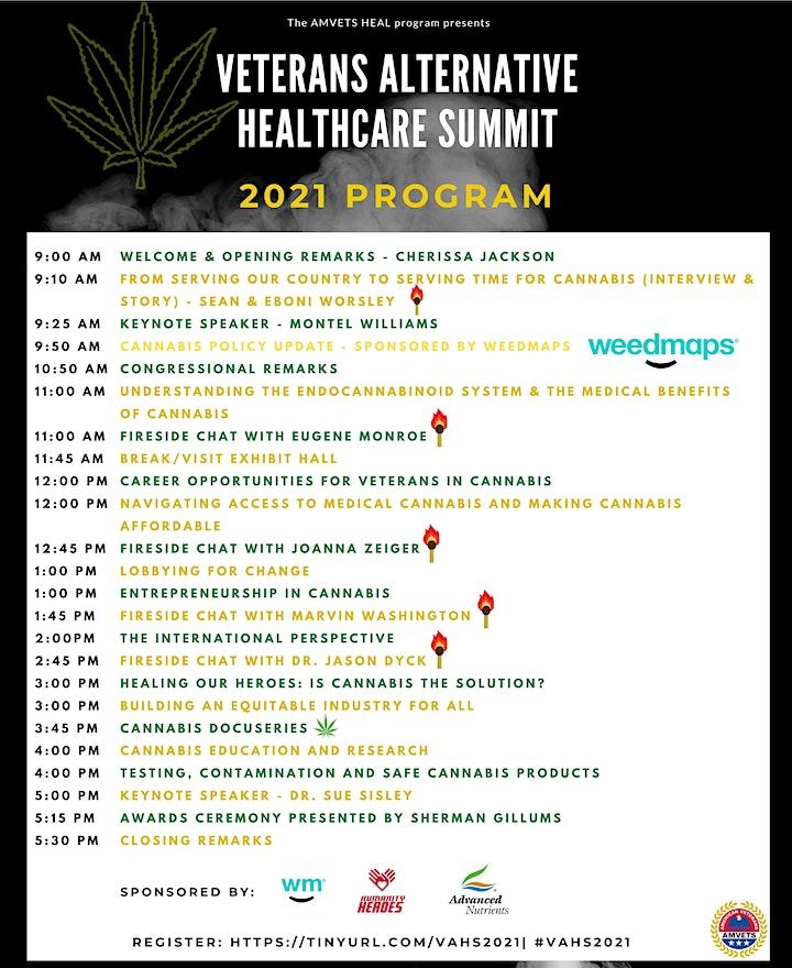 AMVETS HEAL Program - Veterans Alternative Healthcare Summit image