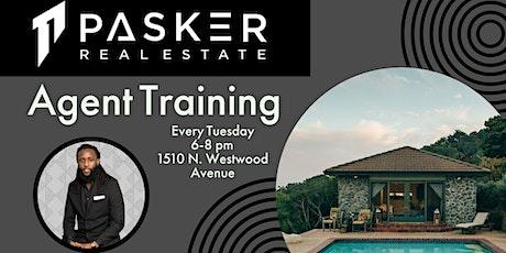 Pasker Agent Training tickets