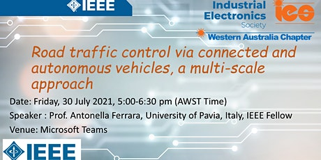 Road traffic control via connected and autonomous vehicles tickets