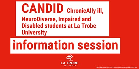CANDID information session tickets