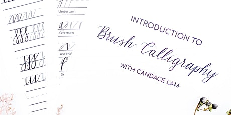 Introduction to Brush Calligraphy Online tickets
