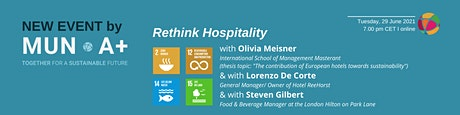 Rethinking Hospitality - a panel discussion on sustainability tickets