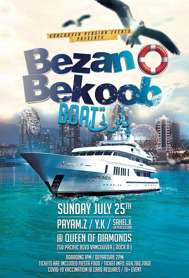 Bezan O Bekoob Boat Party image