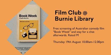 Film Club @ Burnie Library - Book Week (Rated M) tickets