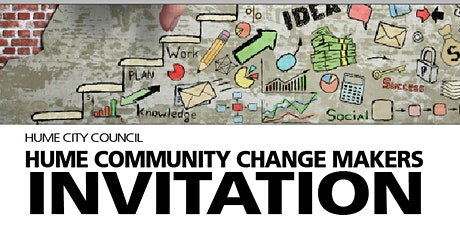 Hume Community Change Makers Graduation tickets