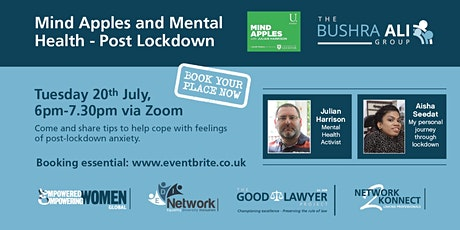 Mind Apples and Mental Health Post Lockdown tickets