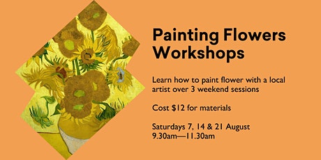 Painting Flowers Workshops tickets