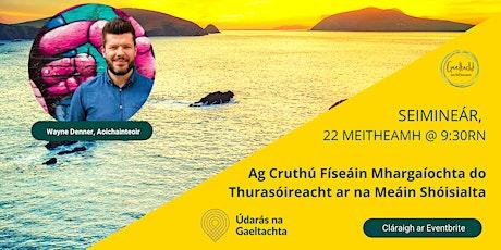 Ag Cruthú Físeáin Mhargaíochta do Thurasóireacht ar na Meáin Shóisialta tickets