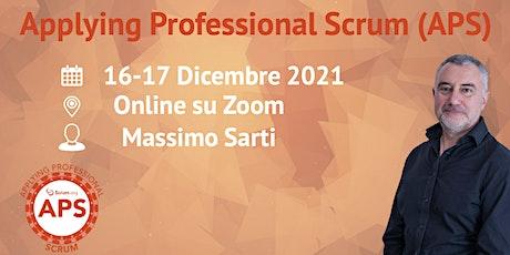 Applying Professional Scrum - Scrum.org - Online biglietti
