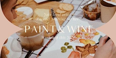 Rachael Thiering Presents: Paint & Wine Workshop tickets