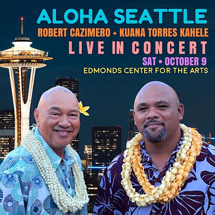 Robert Cazimero and Kuana Torres Kahele In Concert image