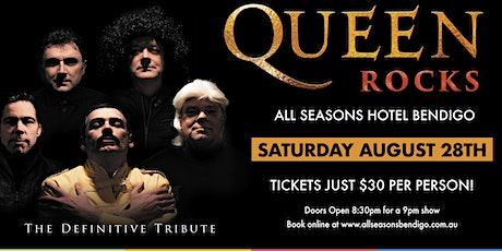 Queen Rocks - The Definitive Tribute tickets