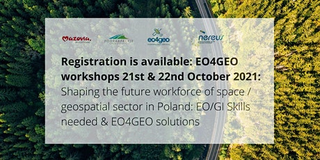 EO4GEO Workshop: Shaping the future workforce of the EO/GI sector (Podkar.) tickets