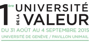 1ère Université de la Valeur - Value University