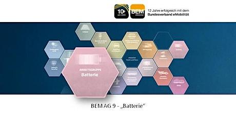BEM-AG 9 - Batterie | September 2021 Tickets