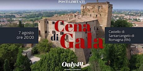 Cena di Gala al Castello di Santarcangelo di Romagna biglietti