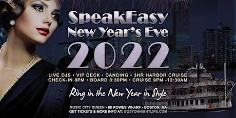 Boston New Year's Eve Party 2022 - Speakeasy Cruise tickets