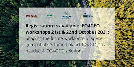 EO4GEO Workshop: Shaping the future workforce of the EO/GI sector (Mazovia) tickets