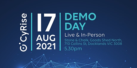 CyRise Demo Day, August 2021 tickets