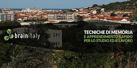 Montesilvano: Corso gratuito di memoria biglietti