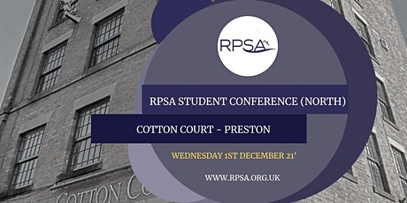 RPSA 2021 Student Conference North tickets