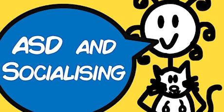 Socialising & Autism (1 hour Webinar with Sam) tickets