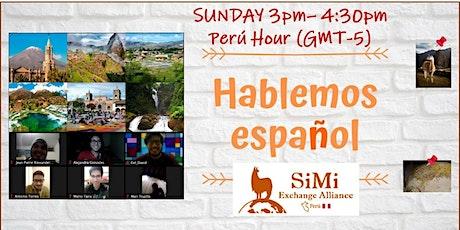 FREE HAPPY SPEAKING HOUR (English-Spanish) tickets