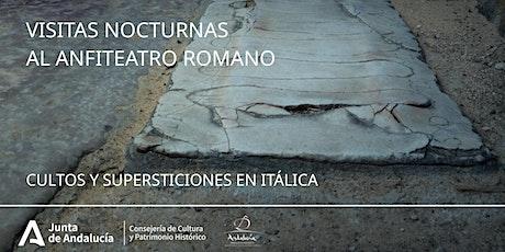 Visitas nocturnas al anfiteatro romano de Itálica entradas