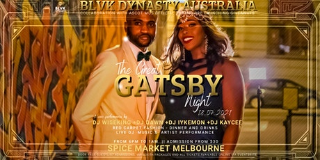 The Great GATSBY Night tickets