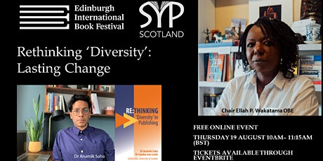 Edinburgh International Book Festival: Rethinking 'Diversity' in Publishing tickets