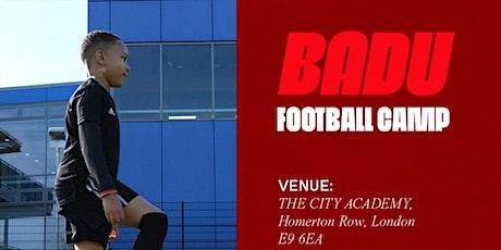 BADU Football Camp - Summer tickets