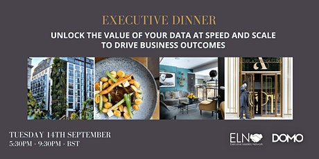 Executive Dinner - Unlock the Value of your Data at Speed and Scale tickets