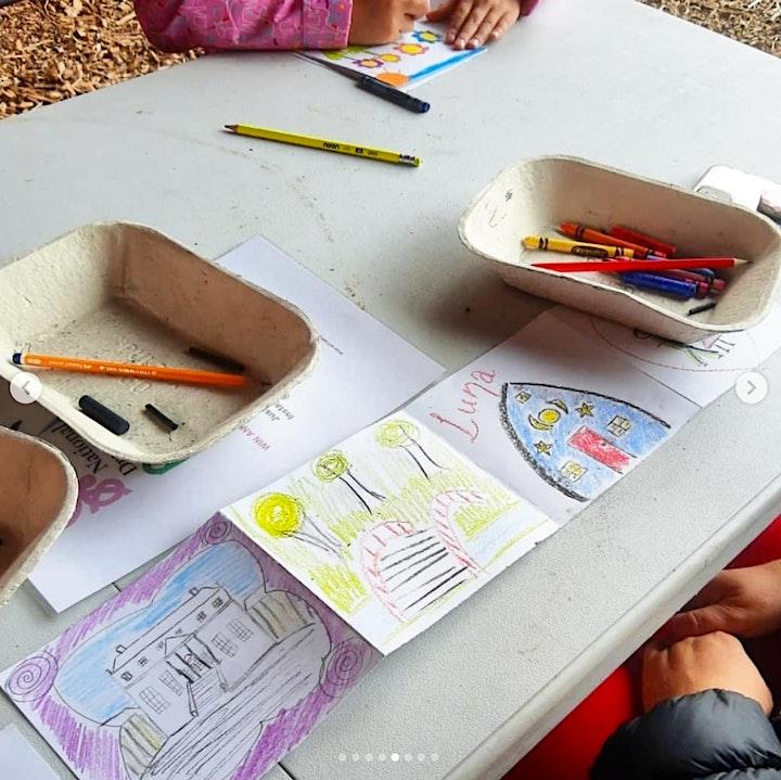 Children's Sketchbook-Making and Drawing Workshops at Doneraile Art FesT image