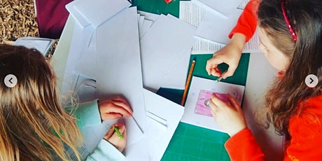 Children's Sketchbook-Making and Drawing Workshops at Doneraile Art FesT tickets