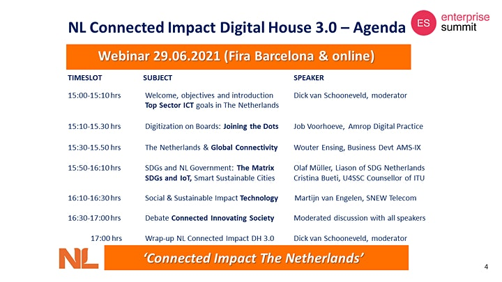 Afbeelding van NL Digital House 3.0 Connected Impact Innovation in The Netherlands